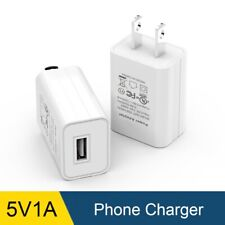 Universal 5V 1A USA Plug USB AC Wall Charger Power Adapterf For iPhone Samsung