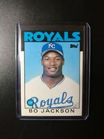 1986 Topps Traded Bo Jackson RC #50T  Kansas City Royals