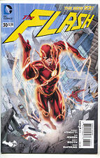 Flash 30 4th Series DC 2014 NM New 52 1st Wally West II Brett Booth