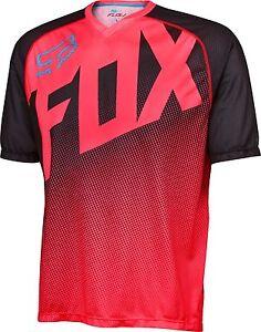 Fox Racing Flow s/s Jersey Neo Red