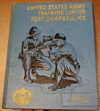Army Training Yearbook Fort Campbell KY VIETNAM 1967 Company B 7th Battalion