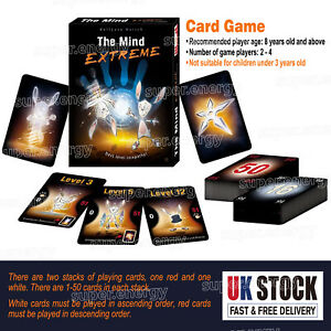 Cards Game Family Friends Party Fun Card Game Interactive Strategy Board Game UK