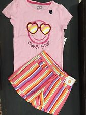Gymboree Gap outfit lot size 5 Shirt shorts NEW 43.00