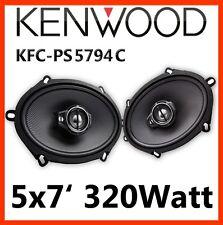 "Kenwood KFC-PS5794C - 5x7"" Triaxsystem LAUTSPRECHER oval Auto PKW ovale Boxen"