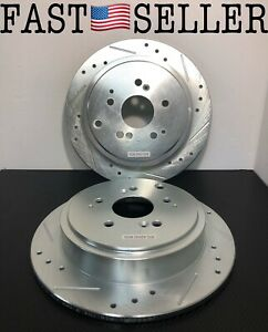 Power Stop JBR960XR Power Stop Extreme Performance Drilled Brake Rotors Rear R/L