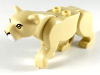 LEGO® Tan Lion Lioness Minifigure City Jungle Mountain Police Theme