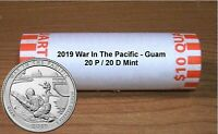 2019 WAR IN THE PACIFIC - GUAM 20 P / 20 D ROLL ** IN STOCK **