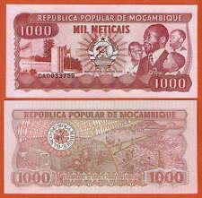 P132c   Mozambique / Mosambik  1000 Meticais  1989   UNC