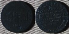 Token : 1811 England Newark Castle , G/G+ Dings 35 mm Copper IRTM522