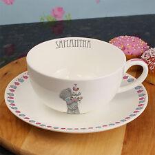 Personalised Me To You Bear Cupcake Teacup Saucer Gift Mum Nan Sister Birthday