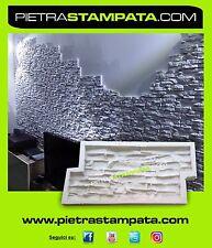 CONCRETE MOLD STONE WALL VENEER RUBBER MOLD Concrete STAMP facing Plaster,