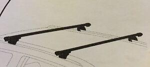 2x new cross bar roof racks for Kia Sportage 2010 - 2020 to flush rail