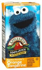 (2 Pack) APPLE & EVE Cookie Monster Juice, 4.23 Ounce, 8-Count Aseptic Boxes