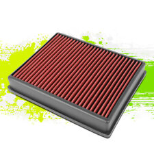 Washable High Flow Drop-In Air Filter Red for Ford Edge 2.0/2.7/3.5L 15-20 16 17