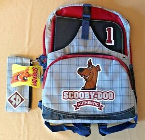 Vintage 2002 Cartoon Network Scooby Doo Authentic School Backpack NEW NWT