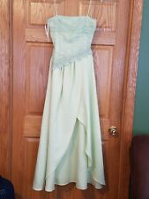 Masquerade Lime Green Backless Prom Dress, Size 5/6