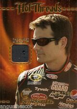 JEFF GORDON 2010 Press Pass race-used firesuit card is numbered 299 of 299