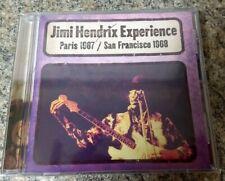 The Jimi Hendrix Experience - Paris 1967 / San Francisco 1968 (CD 2003) 13 songs