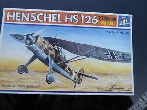 Henschel HS126, Italeri 1/72