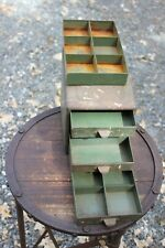 Vintage Small Tool 4 Drawer Metal Parts Cabinet Chest