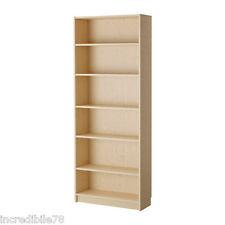 IKEA BILLY Libreria, impiallacciatura di betulla 80x28x202 cm