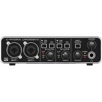 New Behringer U-Phoria UMC202HD Audio Interface Authorized Dealer Best Offer!