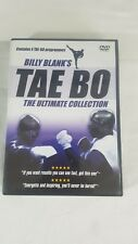 Billy Blanks' Tae Bo The Ultimate Collection Workout Fitness 4-DVD R0 Abs Glutes