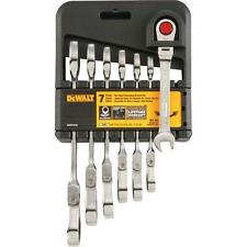 Dewalt DWMT74195 7 Pc Ratcheting Flex Head Combo Wrench Set