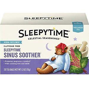 Celestial Seasonings Wellness Tea, Sleepytime Sinus Soother