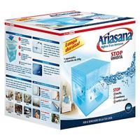 Ariasana kit assorbiumidità con vaschetta cubo e 2 ricariche da 450 gr per 40 mq