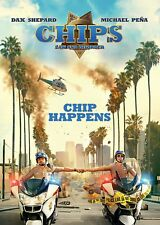 CHIPS: LAW AND DISORDER Dax Shepard Michael Pena DVD in Inglese NEW .cp