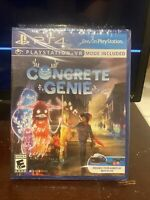 Concrete Genie (Playstation 4, 2019) VR PS4 NEW SEALED PSVR MODE INCLUDED