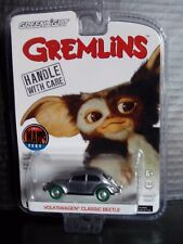 Greenlight Volkswagen Beetle VW Bug Gremlins Raw Super Green Machine Chase 1/64