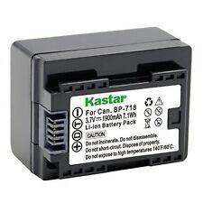 1x Kastar Battery for Canon BP-718 Canon VIXIA HF R50 R52 R60 R62 R300 R400 R500