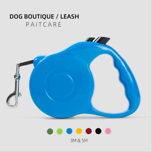 3m 5m Pet Dog Cat Puppy Automatic Retractable Traction Rope Walking Lead Leash