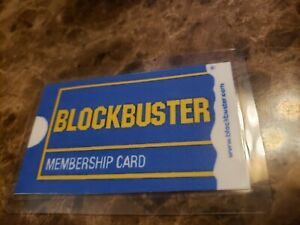 Real, Blockbuster Video Membership Card Collectors