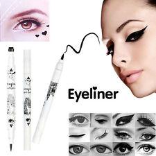 NEW Beauty Black Eyeliner Liquid Eye Liner Pencil Waterproof Makeup Heart Stamp