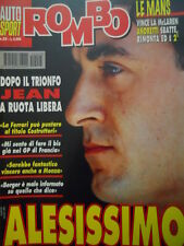 Auto & Sport ROMBO 25 1995 il trionfo di Jean Alesi con Ferrari