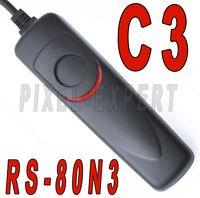 RS-80N3 PER CANON SCATTO REMOTO TELECOMANDOEOS RS80N3 7D 6D 5D MARK II III 1D
