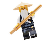 LEGO Ninjago: Sensei Master Wu Legacy with Golden Staff