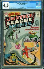 Brave and the Bold #28 CGC 4.5 1960 DC 1st Justice League! L9 122 cm clean set