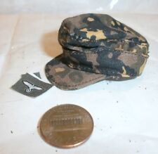 Toys City German autumn camo field cap 1/6th scale toy accessory