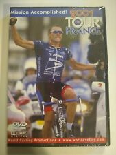 NEW 2001 Tour de France DVD Lance Armstrong World Cycling 2 Discs-Sealed