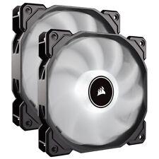Corsair AF140 Air Series LED 140mm Computer Case Fans - Dual Pack - White