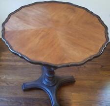 Wonderful 1920's Mahogany Pie Crust Side Table - Lion's Claw Feet  VGC BEAUTIFUL