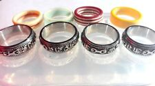 Clear Silicon unisex rings mold. (O-28)