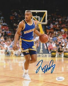 TIM HARDAWAY Signed Autograph Auto 8x10 Picture Photo Golden State Warriors JSA
