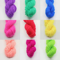 25g Baby Crochet Blanket Milk Yarn Velvet Cotton Blend Woven Hand Knitting au