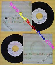 LP 45 7'' ULTRAVOX One small day Easterly 1984 italy CHRYSALIS 348 no cd mc dvd