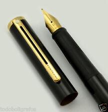 Pluma Estilografica Sheaffer Agio Compact mini lacada negro Gt.plumin p. medio.